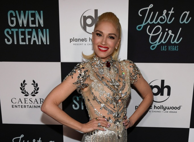 Singer Gwen Stefani attends the grand opening of her 'Gwen Stefani - Just a Girl' residency at Planet Hollywood Resort & Casino
