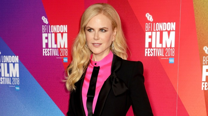 Nicole Kidman attends the European Premiere