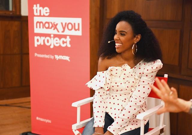 Kelly Rowland for T.J.Maxx