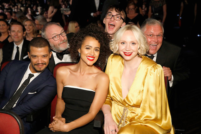 Photo of the cast of 'Game of Thrones' at the 70th Annual Emmy Awards