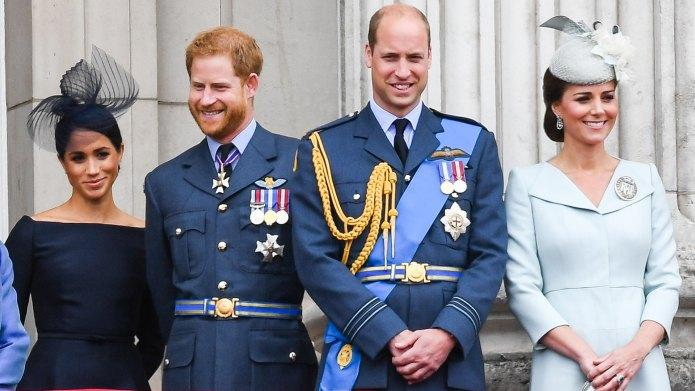 Meghan Markle, Prince Harry, Prince William,
