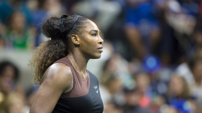 Serena Williams of the United States