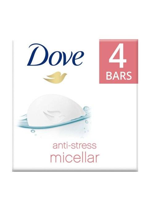 Dove Anti-Stress Micellar Water Beauty Bar (4-Pack)