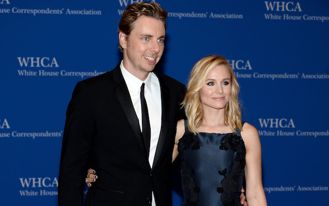 Dax Shepard and Kristen Bell attend the 100th Annual White House Correspondents' Association Dinner at the Washington Hilton on May 3, 2014, in Washington, DC.