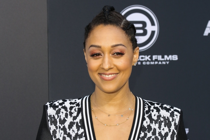 Tia Mowry attends the premiere of Lionsgate's 'All Eyez On Me'