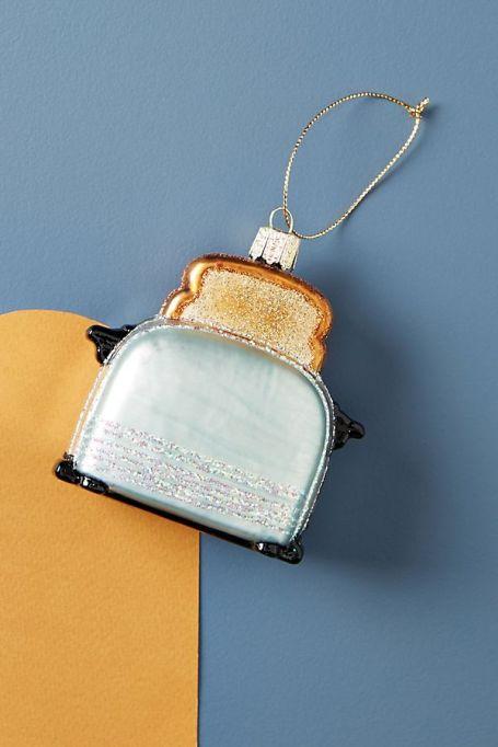 Sparkling toaster ornament