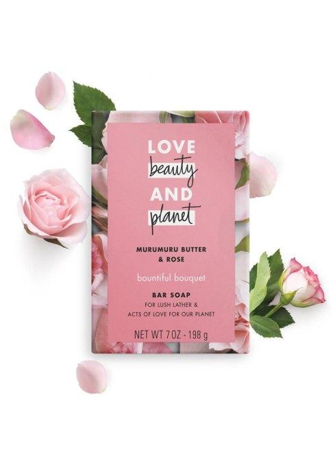 Love Beauty and Planet Murumuru Butter & Rose Bountiful Moisture Bar Soap