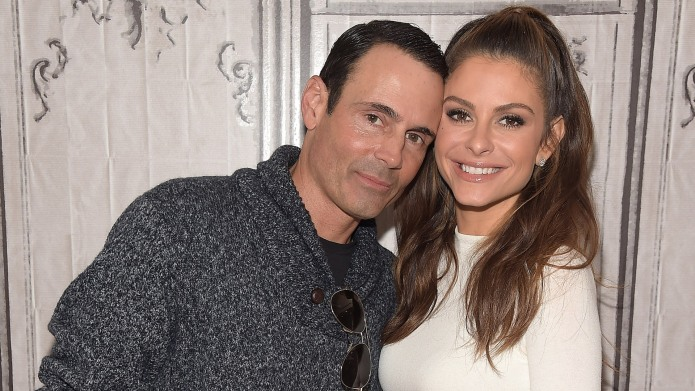 Kevin Undergaro and Maria Menounos attend