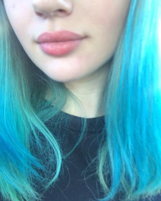 Joey King: Aqua Blue