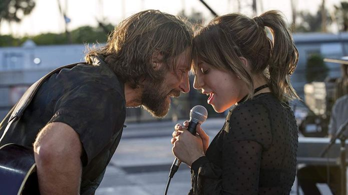 Still of Bradley Cooper and Lady