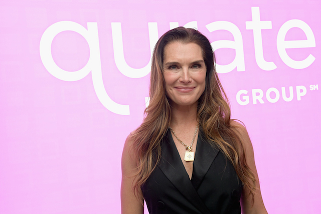 Brooke Shields attends Qurate Retail Group Reception