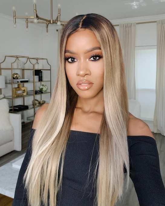 Custom color wig