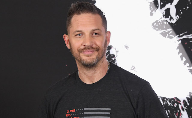 Tom Hardy attends the photo call for Columbia Pictures' 'Venom' at Four Seasons Hotel Los Angeles at Beverly Hills on September 27, 2018 in Los Angeles, California.