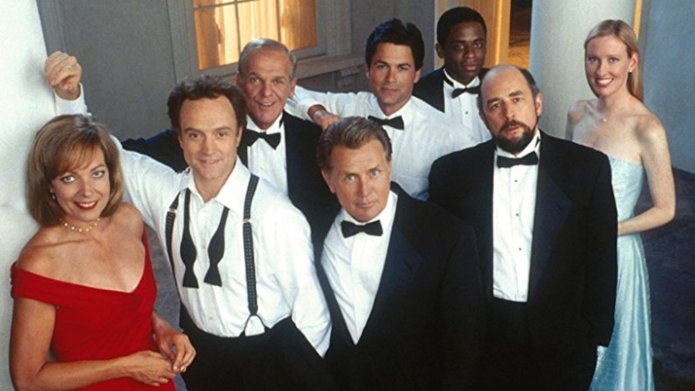 Still of the cast of 'The