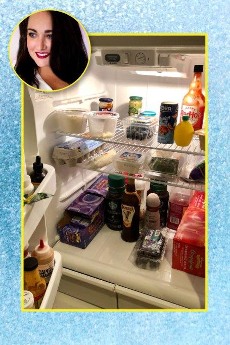 Kenzie Mastroe's fridge