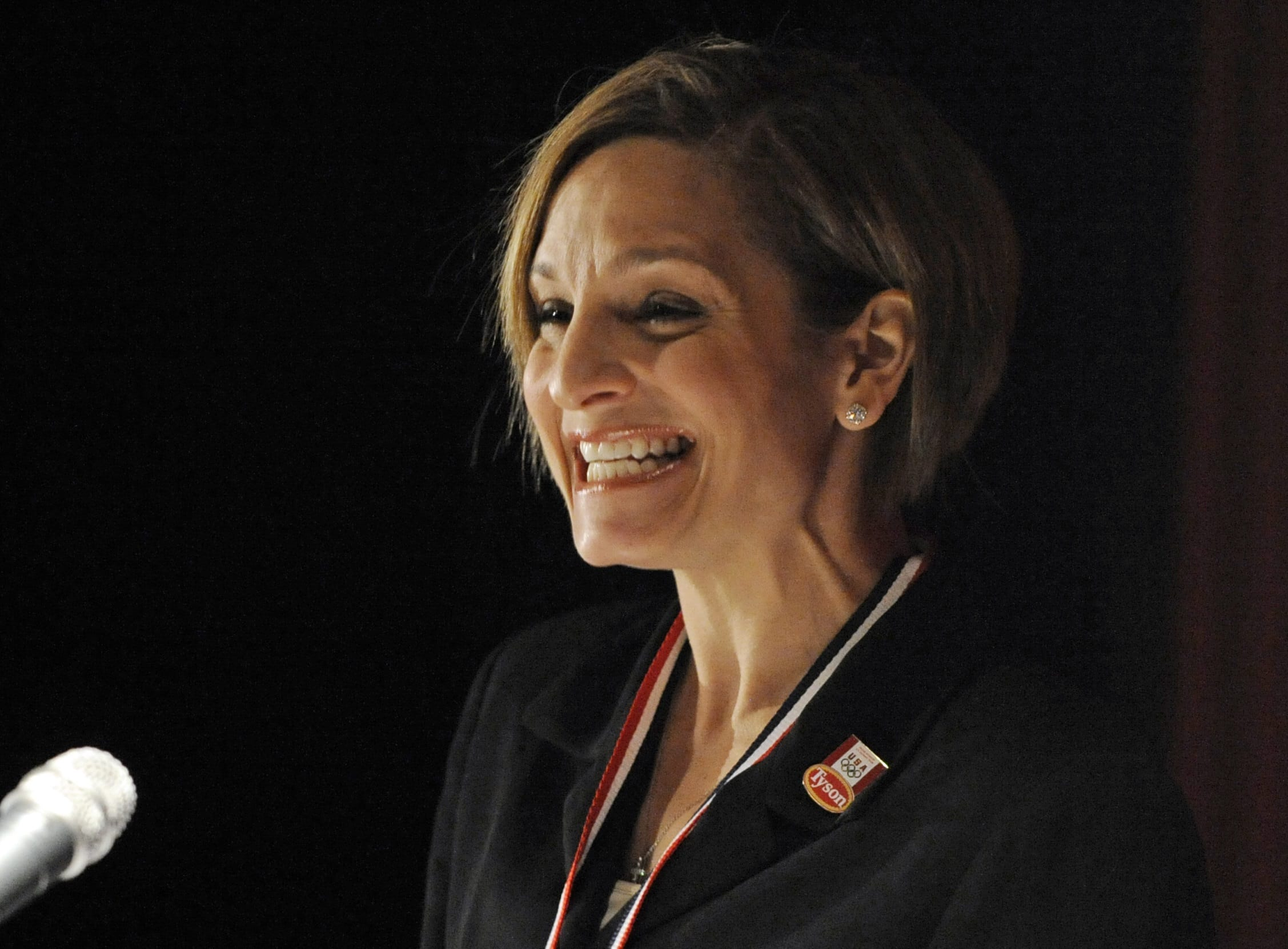 Photo of former Olympic athlete Mary Lou Retton