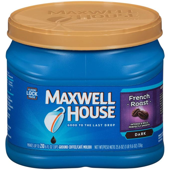 Maxwell ground coffee