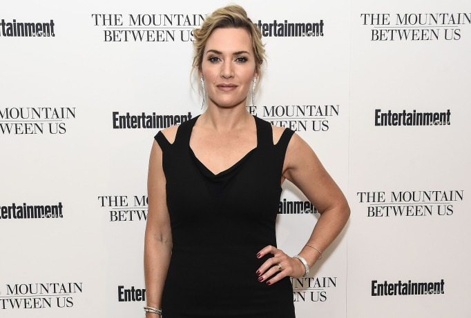Actress Kate Winslet attends the special screening of 'The Mountain Between Us'