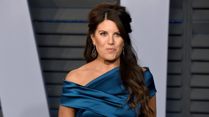Monica Lewinsky attends the 2018 Vanity