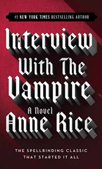 Cover of 'Interview With the Vampire' by Anne Rice