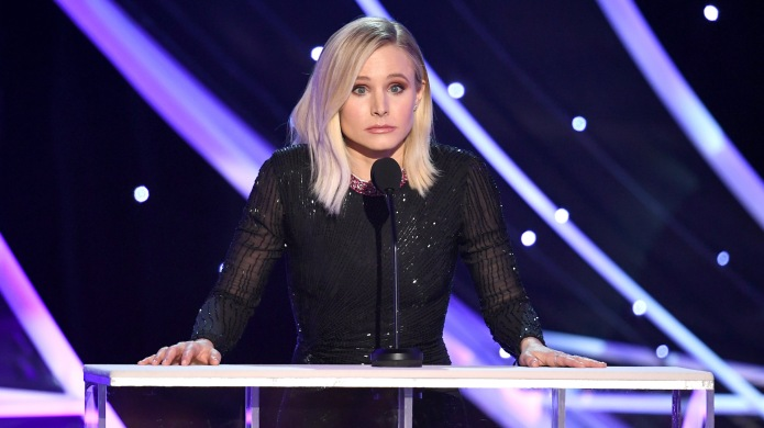 Kristen Bell speaks onstage during the