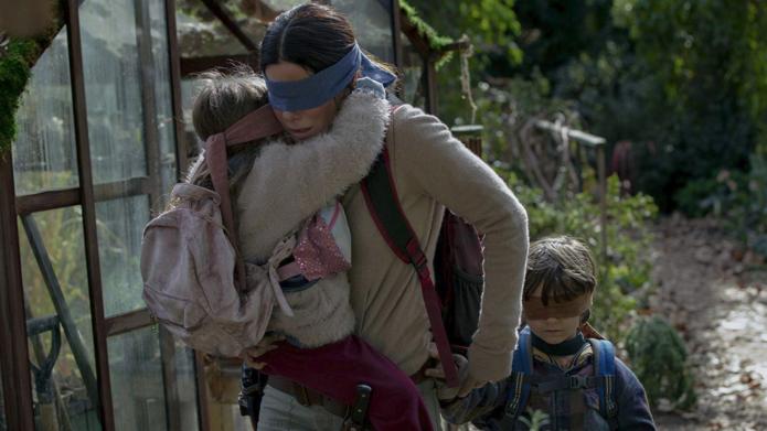 Still of Sandra Bullock in Netflix's