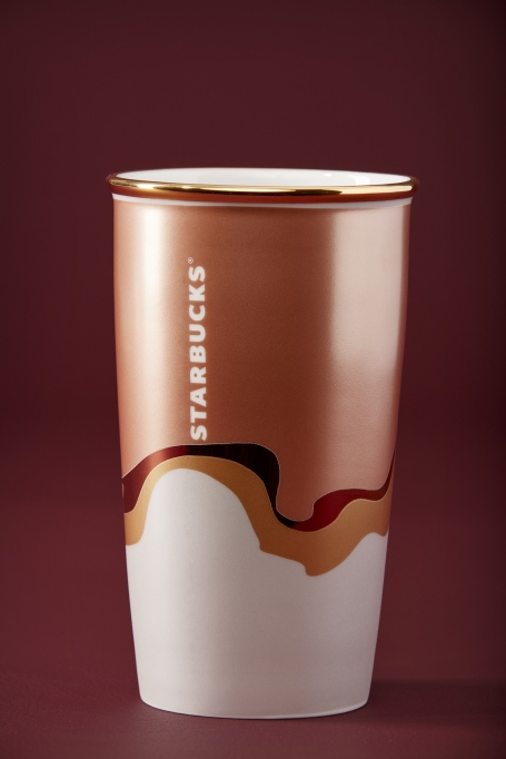 photo of starbucks double wall ceramic sparkle blend tumbler