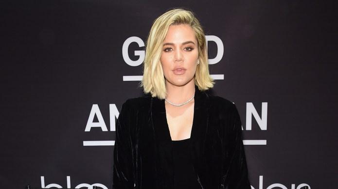 Khloé Kardashian celebrates the launch of