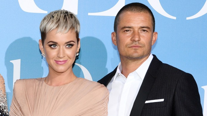 Orlando Bloom and Katy Perry attend