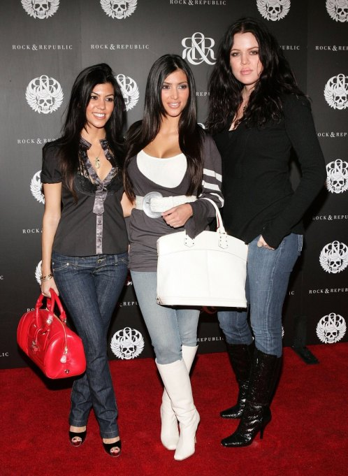 Kourtney, Kim, and Khloe Kardashian
