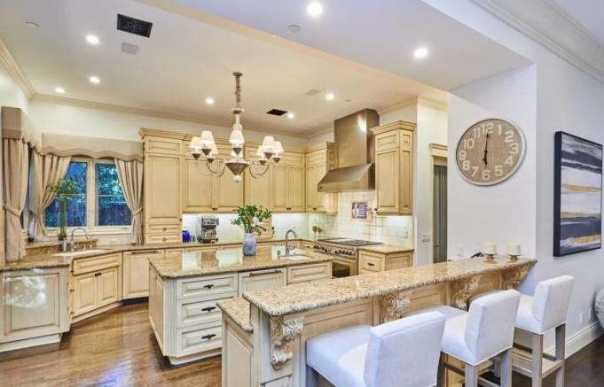 Britney Spears' kitchen