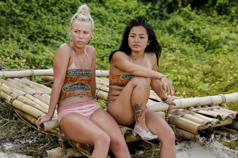 Jessica Peet and Bi Nguyen on 'Survivor: David Vs. Goliath'