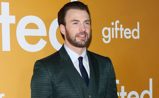 Chris Evans attends the premiere of 'Gifted' at Pacific Theaters at the Grove