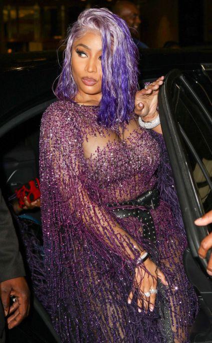 Nicki Minaj: Two-Tone Lavender