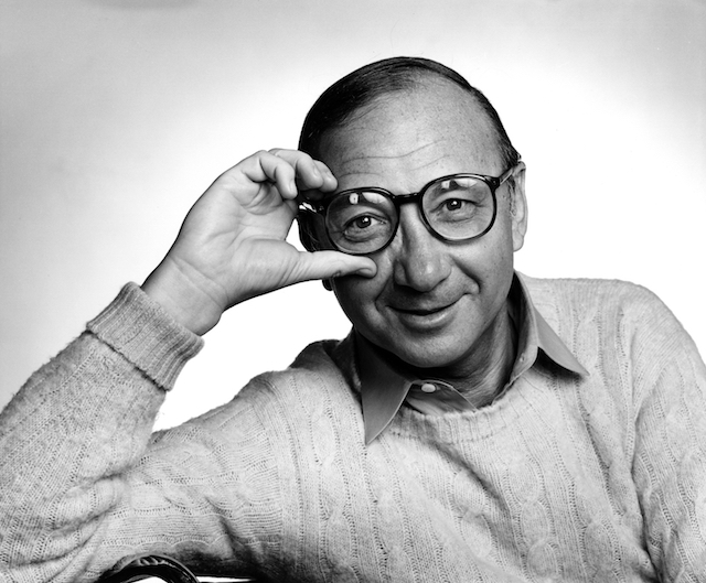 Playwright Neil Simon, photographed in 1982.