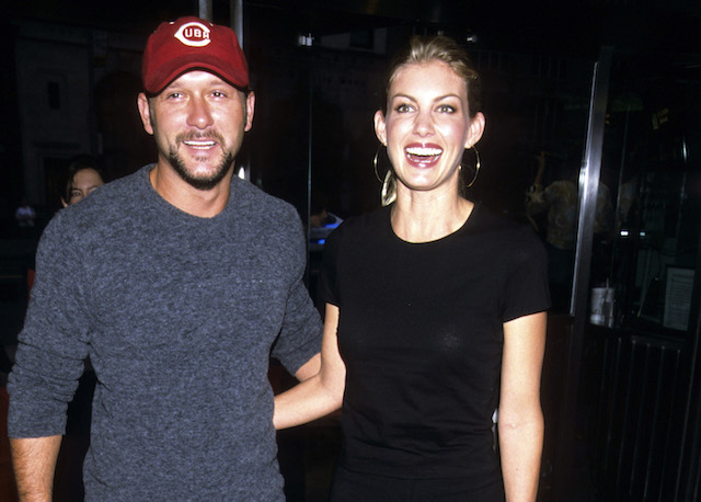Faith Hill and Tim McGraw at event, New York, 1990s.