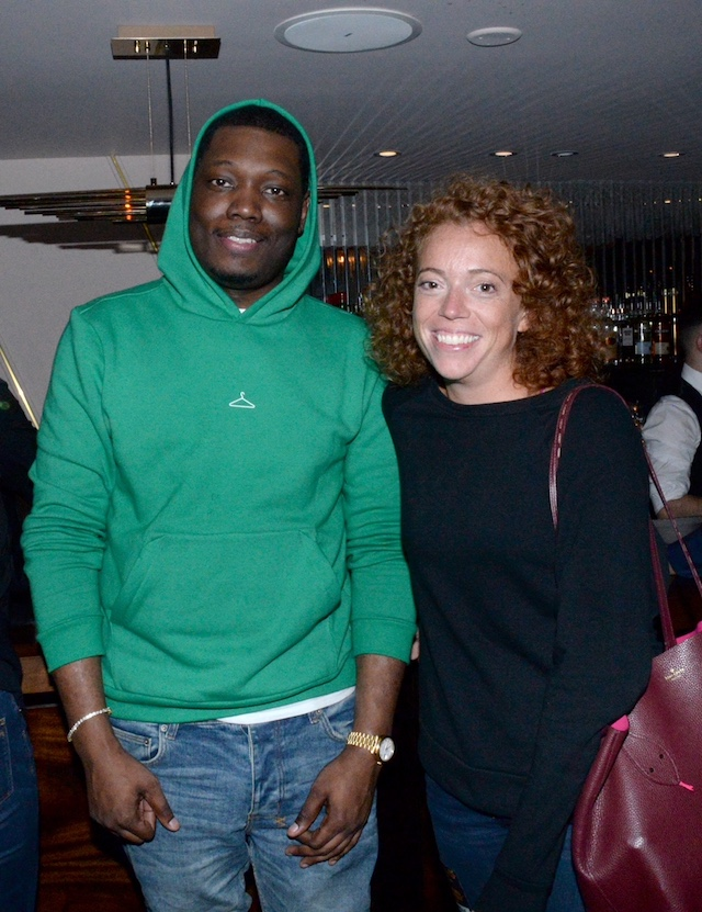 Michael Che & Michelle Wolf attend Dave Chappelle's Private After Party