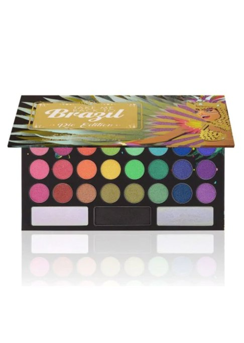 BH COSMETICS Take Me Back to Brazil: Rio Edition — 35 Color Shadow Palette