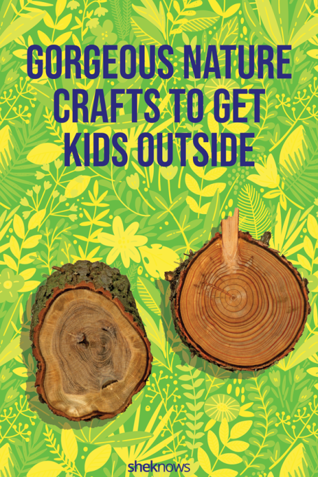 Nature crafts for fall using leaves, twigs, and more