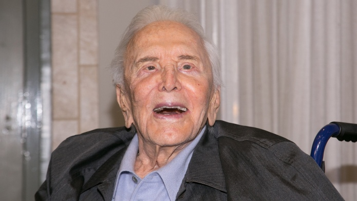 Kirk Douglas attends the 25th Anniversary