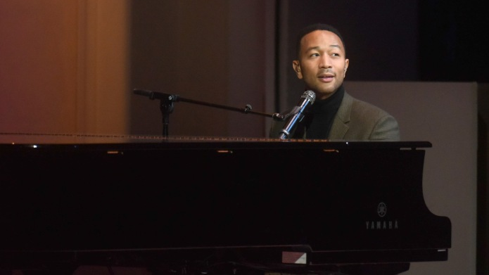 John Legend performs onstage during the