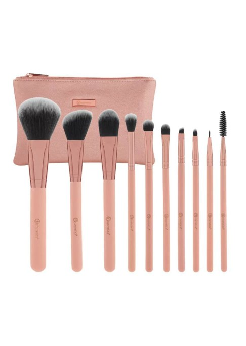 BH Cosmetics Pretty in Pink – 10 Piece Brush Set with Cosmetic Bag