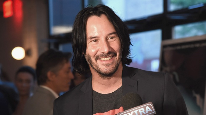 Keanu Reeves attends the 'Siberia' New