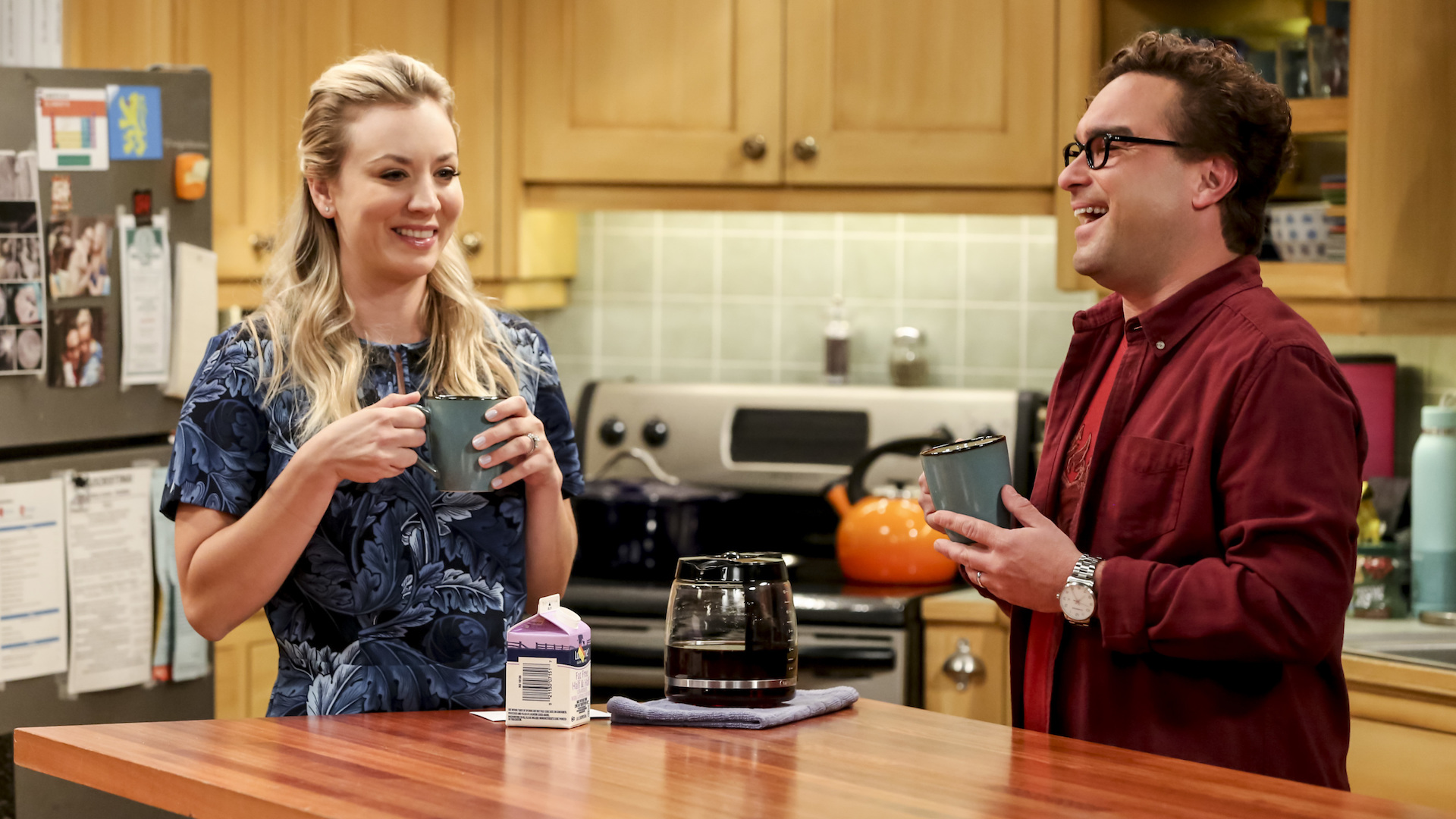 Pregnant penny and leonard Why Did