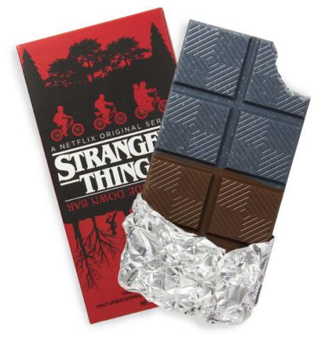 photo of stranger things upside down chocolate bar