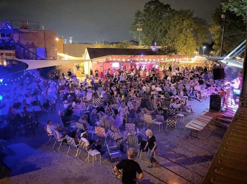 Railgarten venue in Memphis