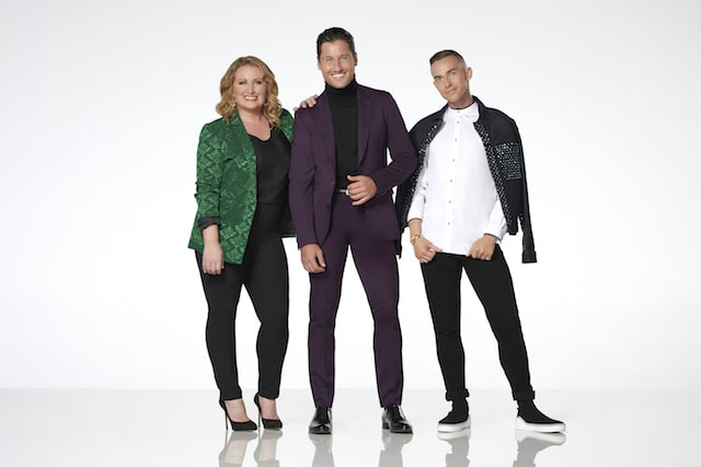 DWTS Juniors judges Mandy Moore, Maks Chmerkovskiy and Adam Rippon