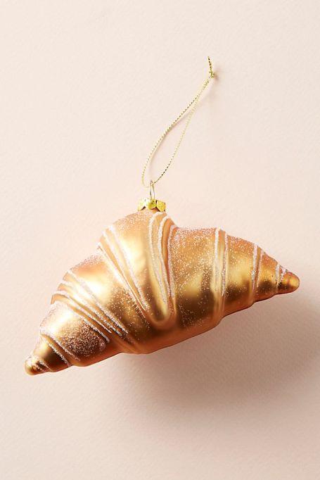 Croissant ornament