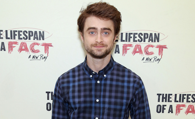 Daniel Radcliffe attends the cast photocall for 'The Lifespan of a Fact' at the New 42nd Street Studios on September 6, 2018 in New York City.