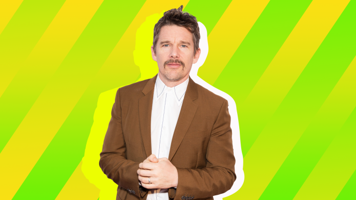 SheKnows treated image of Ethan Hawke
